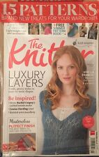 The Knitter Layers Free Patterns Cowl Socks Jewelry #74 Sep 2014 FREE SHIPPING
