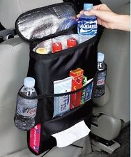Car Travel Organiser Cool Bag Cooler rear seat tidy hot cold fridge insulated