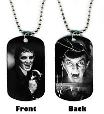 DOG TAG NECKLACE - Jonathan Frid 1 Barnabas Collins Dark Shadows vampire bat