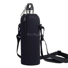 1000ML Water Bottle Carrier Insulated Cover Bag Holder Strap Pouch Outdoor Best