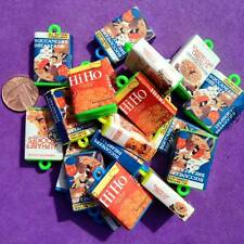 15 x Plastic Cereal Box Charms, Key Rings, Jewellery, Crafts, , Favours