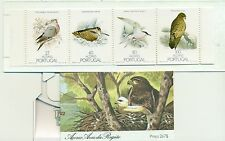 UCCELLI TIPICI - TYPICAL BIRDS AZORES 1988 booklet