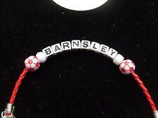 barnsley football bracelet