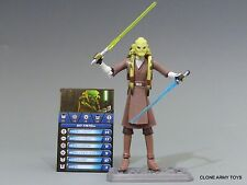 STAR WARS KIT FISTO CLONE COLLECTION JEDI CW23 TCW SOTDS LOOSE