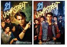 21 JUMP STREET: FIRST SECOND SEASONS 1 2 ONE TWO - NEW!!