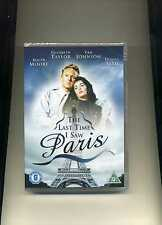 THE LAST TIME I SAW PARIS - ELIZABETH TAYLOR ROGER MOORE - NEW DVD!!