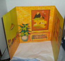 Barbie Collector Vintage Reproduction Knitting Pretty Backdrop for Diorama
