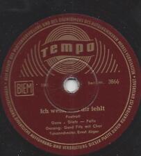Gerd Fitz singt Peter Alexander  1956 : Ich weiss, was dir fehlt