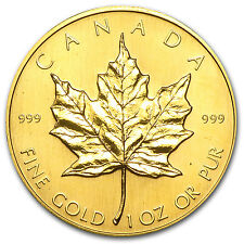 1982 Canada 1 oz Gold Maple Leaf BU - SKU #74652