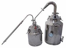 "8 Gallon Moonshine Still with Stainless 2"" Pot Still Column and 3 Gallon Thumper"