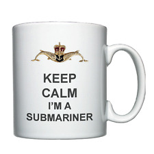 Keep Calm I'm A Submariner -  Personalised Mug - Royal Navy Submarine Service
