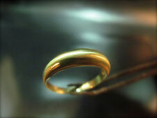 14k wedding ring for man that placed on the Unction Stone of Christ in jerusalem