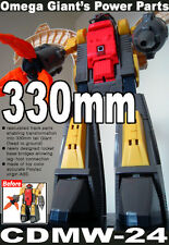 【FREE SHIP WORLDWIDE】transformers crazydevy custom CDMW-24 G1 mp Omega Supreme
