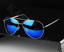Large Size Aviator Pilot Sunglasses UV400