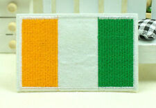 New Ireland Irish Flag Embroidery Iron Sewn On Patch 8.6x5.5cm Special
