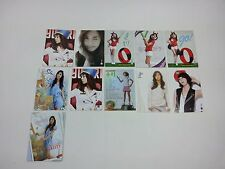 SNSD K-POP [Yuri Star Collection Card] Photocard set Girls' generation Idol 11p