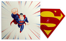 Mondo Superman The Animated Series Die-Cut Vinyl Single Classic Red