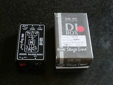 Stage Line DIB 100 Direct recording Box DI Very Good Condition.