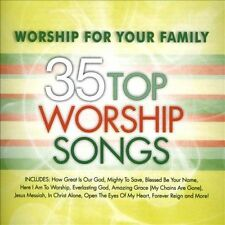 Worship for Your Family: 35 Top Worship Songs [Box] by Various Artists (CD, J...