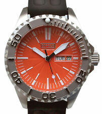 BARBOS   SPORTMASTER   DAY-DATE  WATERRESISTANT 3300ft/1000m  MENS  WATCH NEW