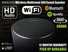 Samsung WAM3500 R3 Multi-Room 360 Wireless Sound Bluetooth Speaker Black Cheapst