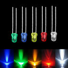 100pcs 3mm White Green Red Blue Yellow LED Light Bulb Emitting Diode Lamps BE