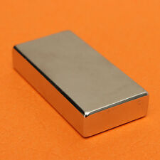 N52 Grade Strong Neodymium Powerful Block Industrial Magnets 50mm X 25mm X 10mm