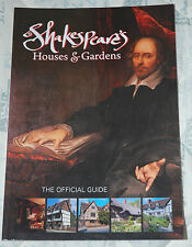 SHAKESPEARE'S HOUSE & GARDENS The official Guide (Jarrold) p/b Revised edition