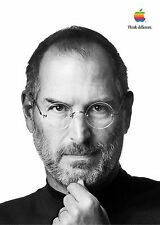 STEVE JOBS APPLE IPHONE 6 THINK DIFFERENT MOTIVATION INSPIRATION POSTER
