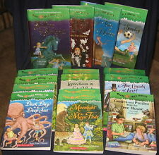 58 MAGIC TREE HOUSE  bks incl  22 Merlin Mission+Research Guides+Games & Puzzles