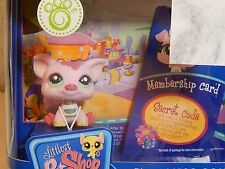 Littlest Pet Shop Online LPSO Web Game Starter Pack Mudelaine SugarSnout Pig New