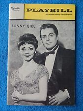 Funny Girl - Majestic Playbill - June 1966 - Mimi Hines - Johnny Desmond - Ford