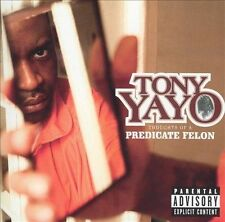 NEW CD: Tony Yayo: Thoughts Of A Predicate Felon: BMG DIRECT CRACK IN CASE REAR