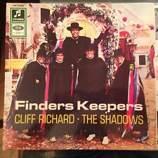 LP Cliff Richard  Finders Keepers   weiß/gold Columbia Germany ORIG!