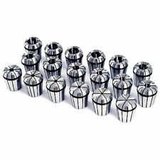 3/32 TO 3/4 INCH ER32 18 PIECE SPRING COLLET SET (3900-5267)