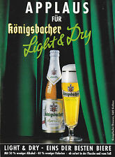 KÖNIGSBACHER - BIERE BIER - ANNONCE PUBLICITAIRE1992 - ADVERTISING - COUPURE