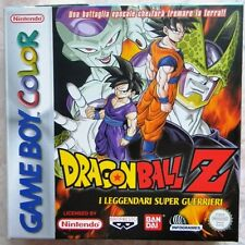 DRAGON BALL Z I LEGGENDARI SUPER GUERRIERI NINTENDO GAME BOY COLOR
