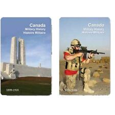 Finders Forum Playing Cards - Canada Military History Facts