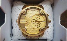 DZ7287 Diesel Daddy reloj de hombre acero inoxidable Gold cronografo 100% watch