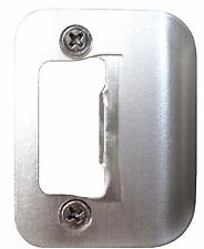 GATOR Door Latch Restorer - Strike Plate with Tab (Satin Nickel)