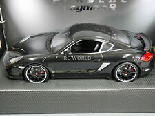 R/C 1/16 Radio Control Car RC PORSCHE CAYMAN R W/ LED Lights + Suspension BLACK