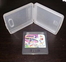 Sonic the Hedgehog 2 W/Case (Sega Game Gear, 1992) Cleaned, Tested & Working