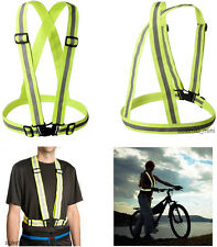 Vest Cloth Reflective Sport Nighttime Safety Emergency Road Bike Rain Dog Tools