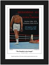 Boxing ~ The rumble in the Jungle  Limited Edition Art Print By Killian
