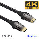 High Quality HDMI Cable V2.0 4K@60Hz 3D 1080P- HDTV LCD LED XBOX PS4 BLUERAY