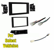 Car Stereo Radio Install Dash Mount Face Trim Kit Combo for 2016 Toyota Tacoma