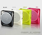 Portable Rechargeable Voice Amplifier Microphone Loudspeaker for Guiding Speech