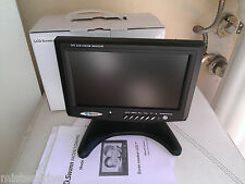 "Swann Security 7"" Color LCD Monitor Model SW248-LM7 Built-In Speeker 2 input Vid"