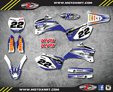 Yamaha YZF 250 2006 - 2008 SHOCKWAVE style full graphics kit / stickers / decals
