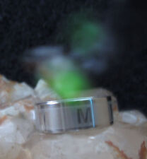 haunted magical ring letter M brings good luck charms witch sz 9 1/2 lucky